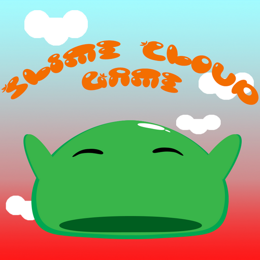 Slime Cloud Game - endless jump runner