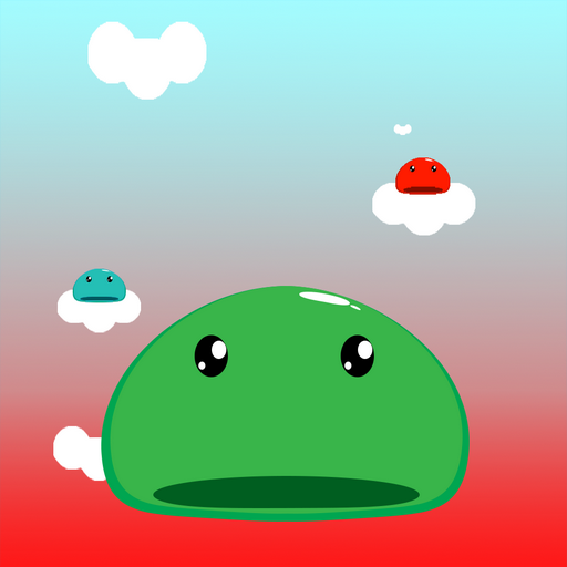 Slime jump - endless runner