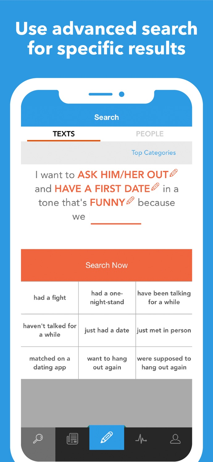 Typs: Text Messages for Dating