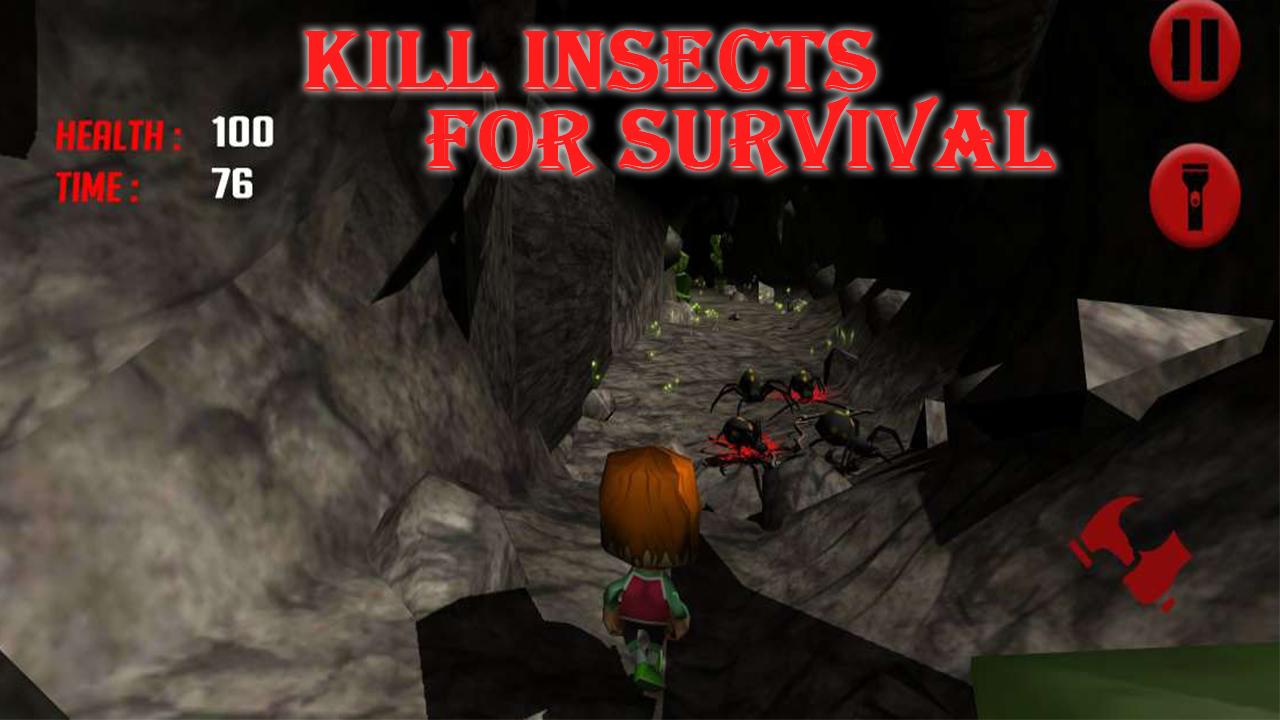 Cave escape - Boy Escape Zombie Survival games
