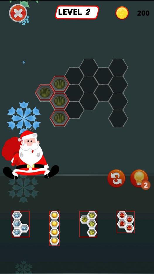 Christmas Block Hexa Puzzle