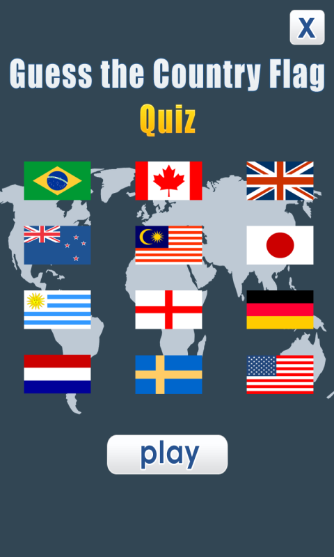 Guess the Country Flag - Quiz