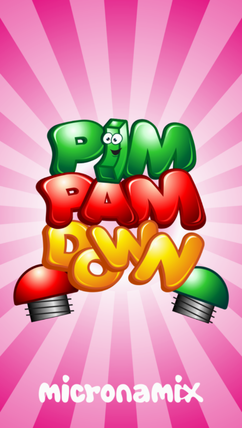 Pim Pam Down: Save the green candy
