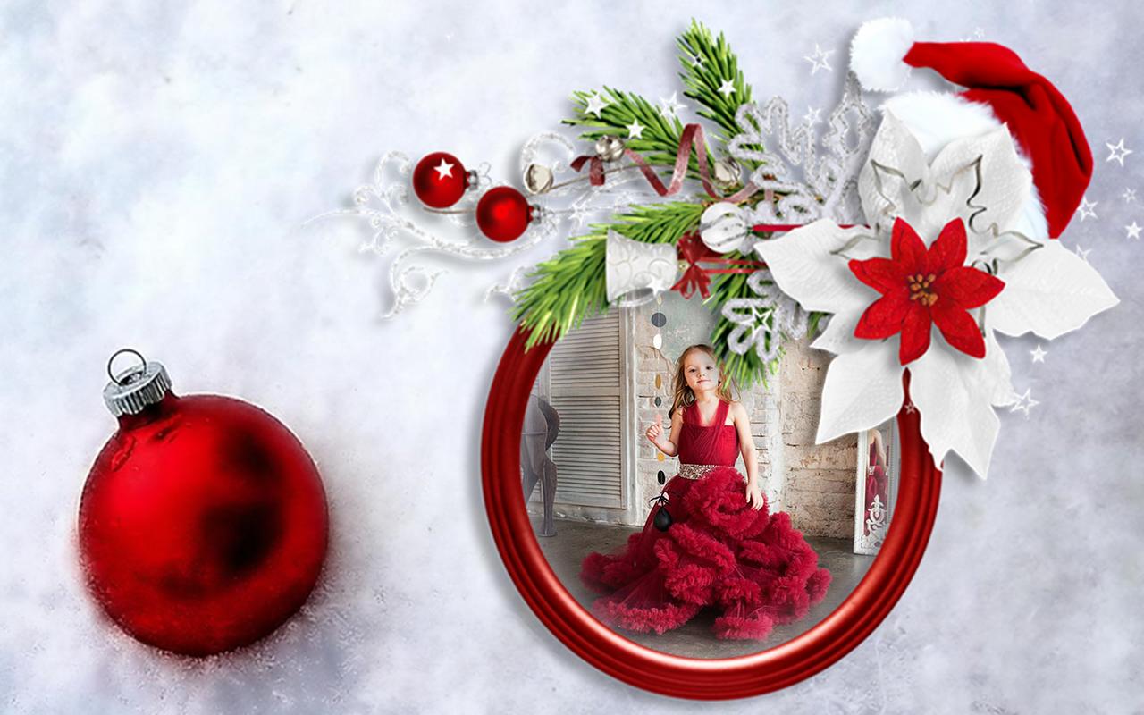 Santa Claus photo frames & Christmas photo editor