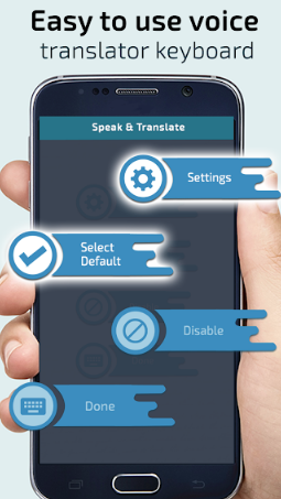 Speech Translator Keyboard - Voice Keypad