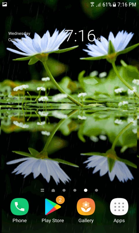 White Lotus Live Wallpaper