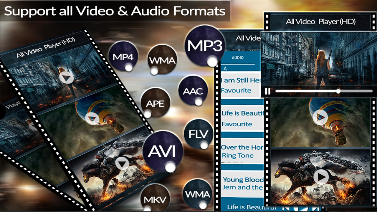 All Video Player (HD) All Formats Support 2019