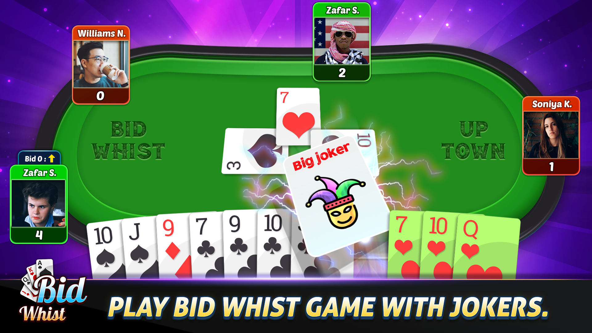Bid Whist Card Game
