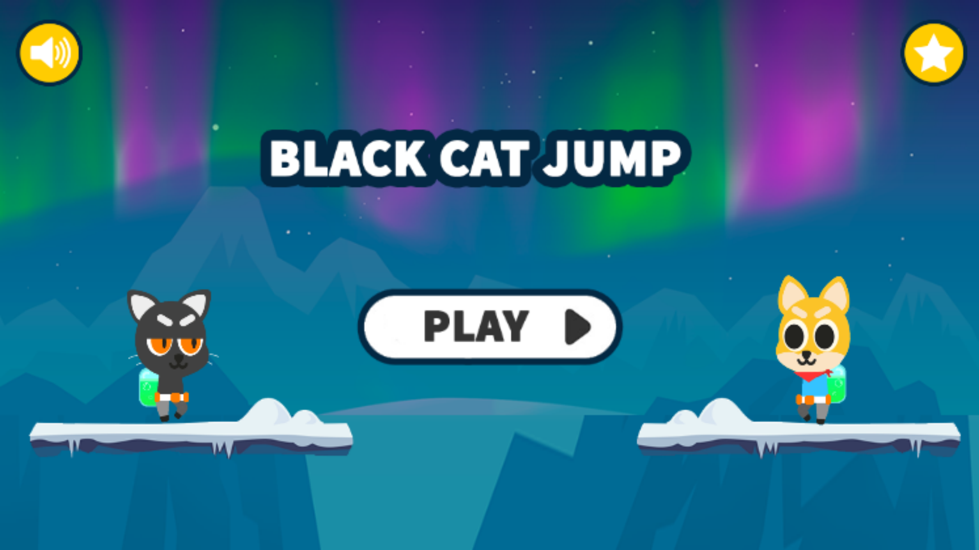 Black Cat Jump: Platformer Games 2020