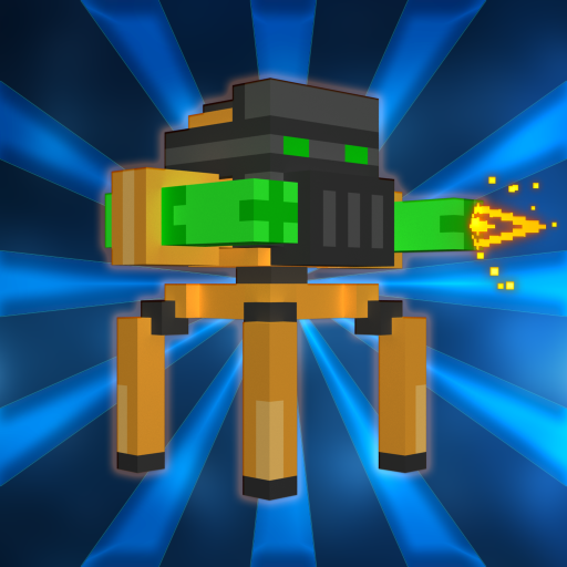 Blocky Bot Shooter - Twin Stick Endless Arcade