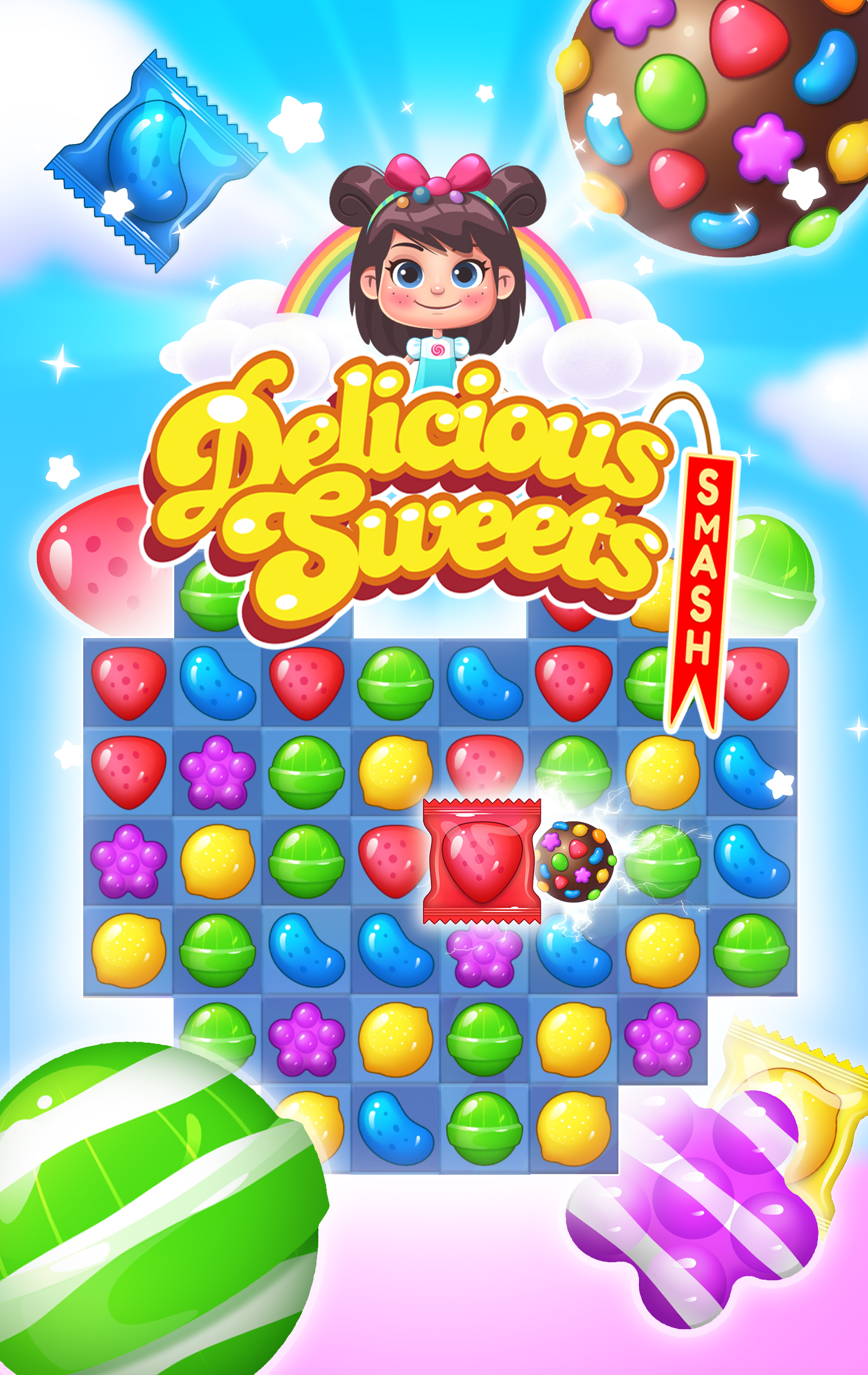 Delicious Sweets Smash