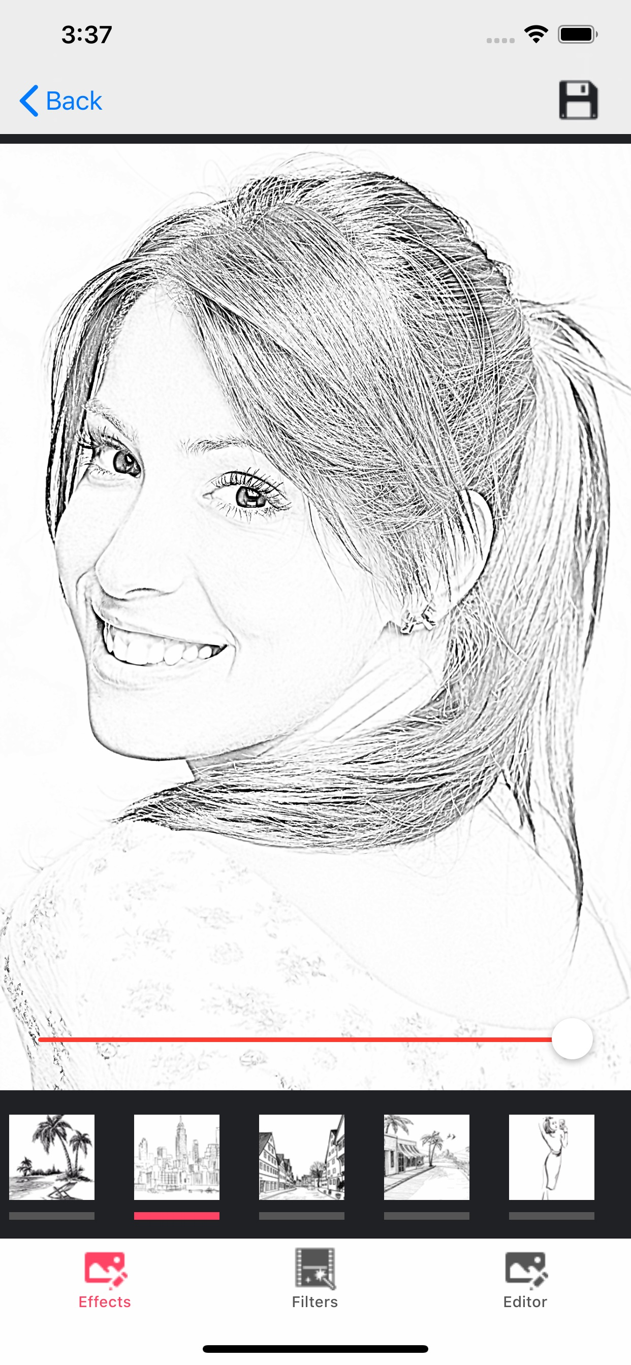 Pencil Photo Sketch Editor