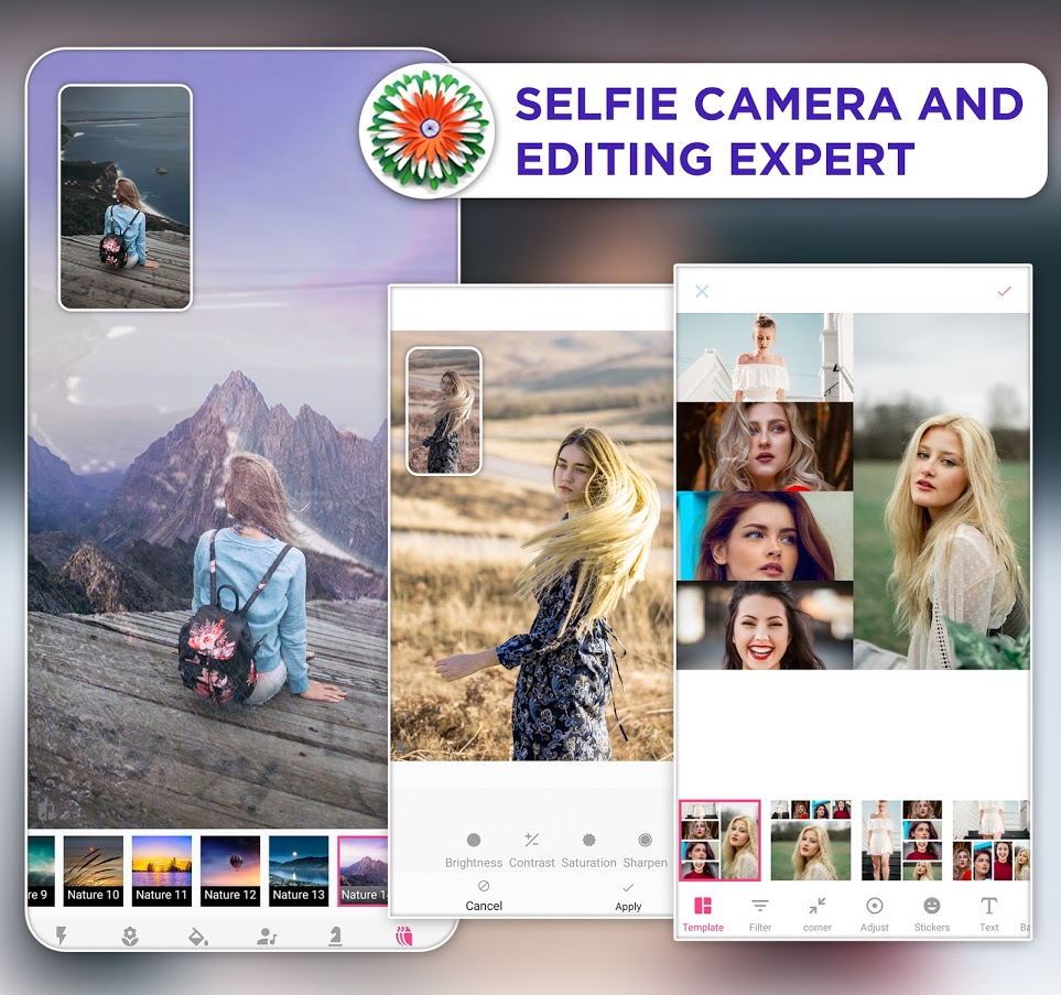 Selfie Camera and Editing Expert