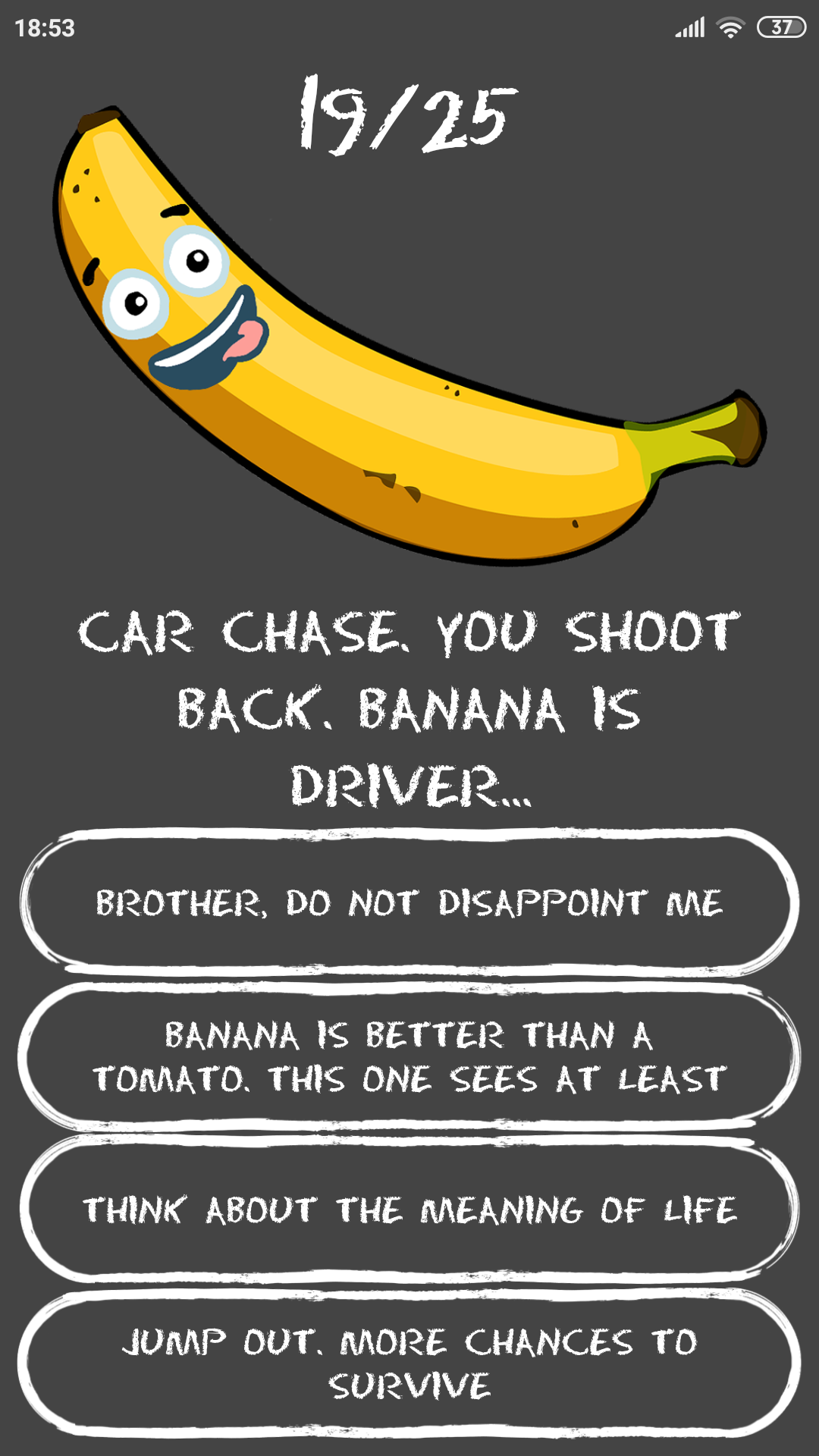 How much are you BANANA?