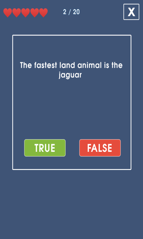 True or False Fun Quiz