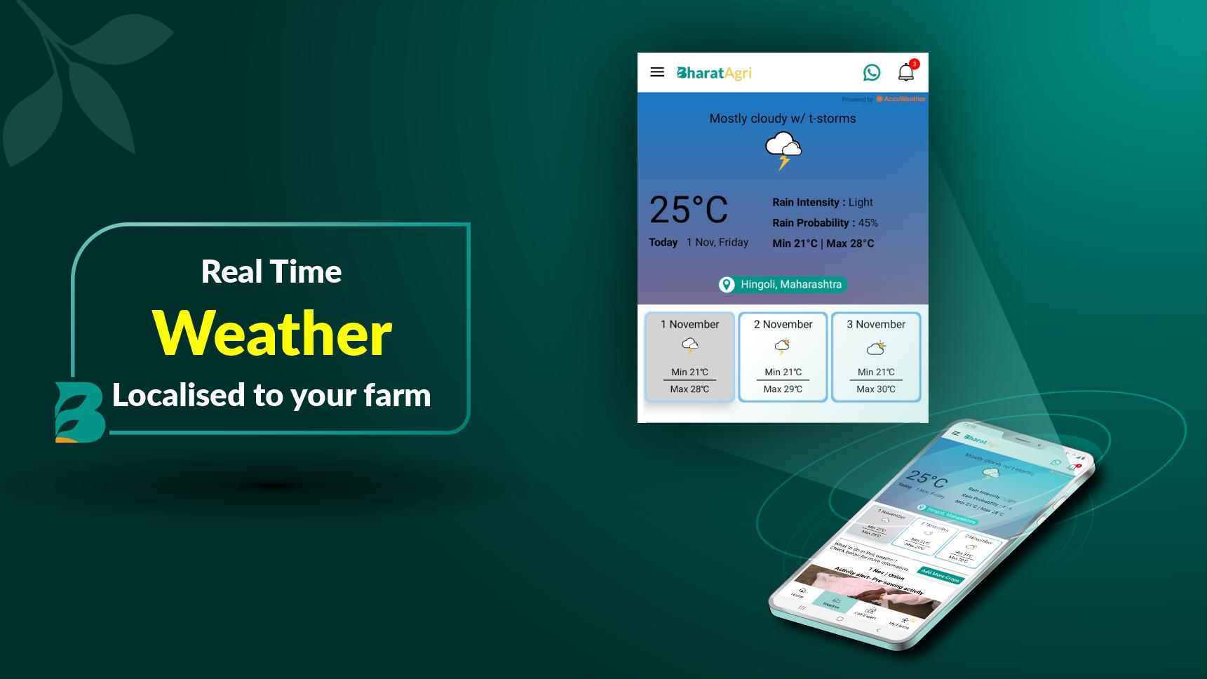 BharatAgri: Smart Farming, Agriculture Expert App