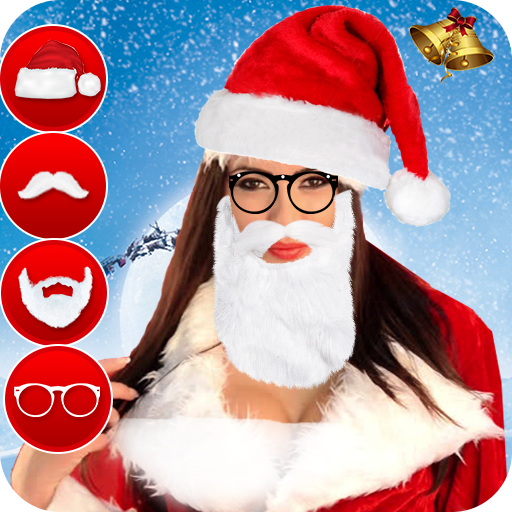 Christmas Photo Editor Santa Claus Photo Frames