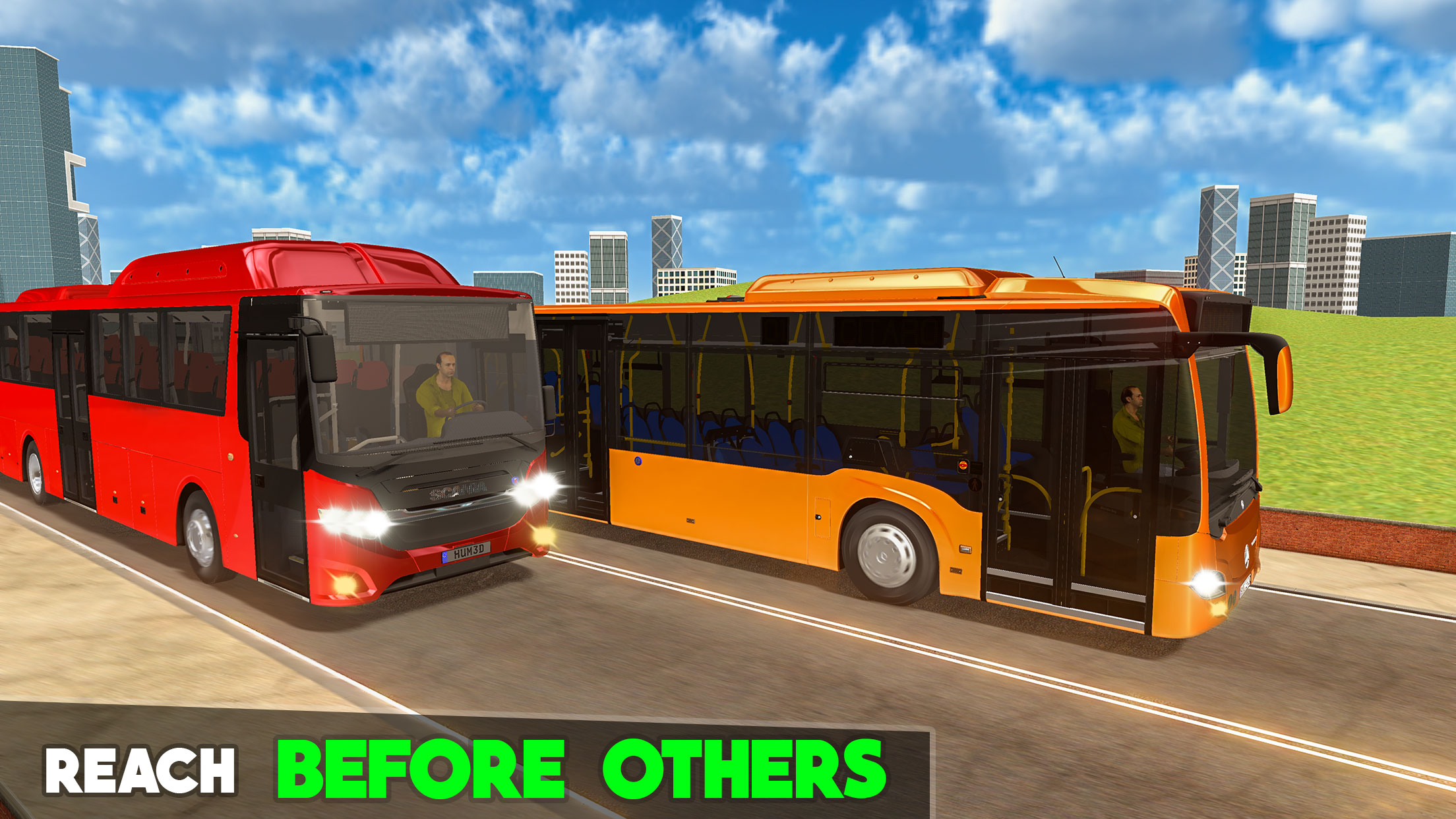City Bus Parking 20- Bus Games with Drive n Racing