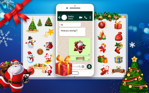 WAStickers for Christmas- Santa Stickers 2019