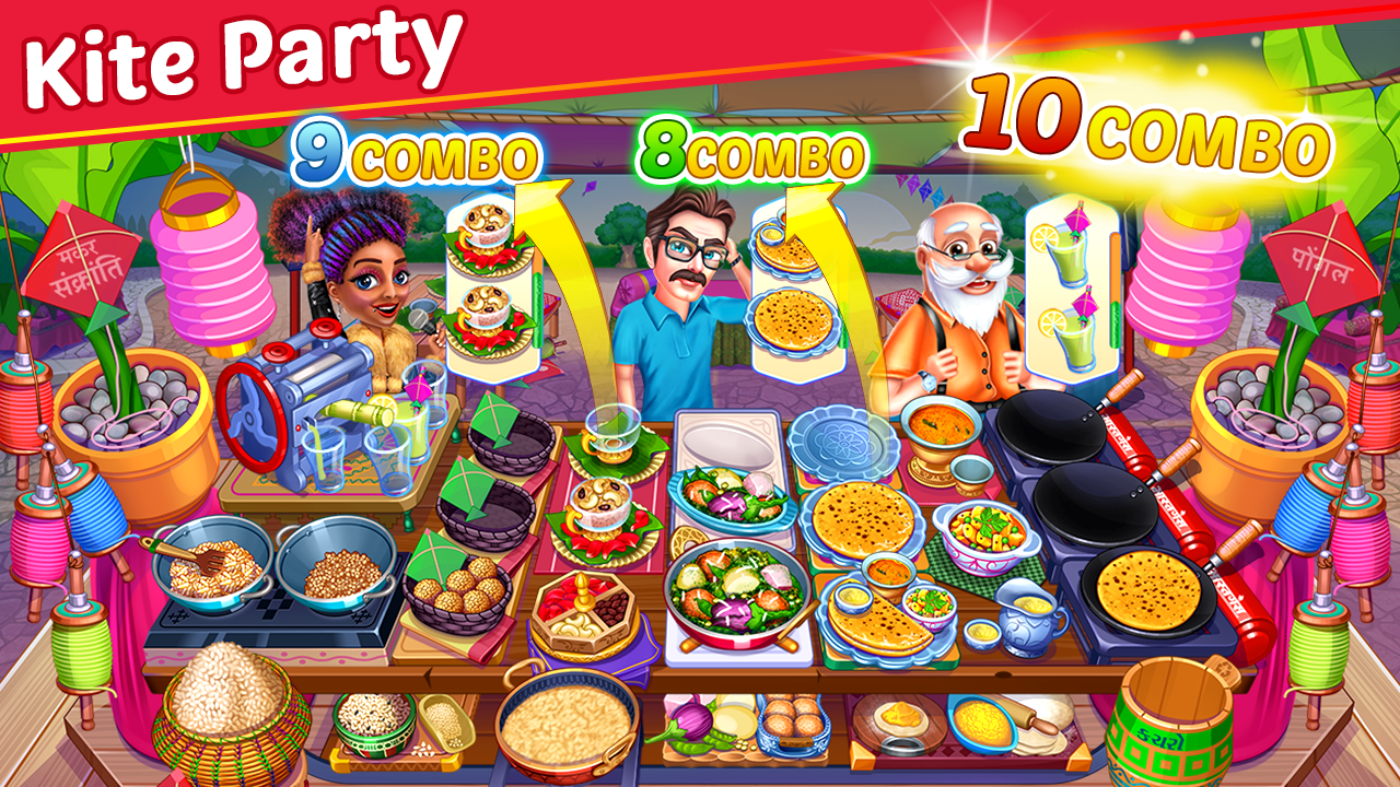 Cooking Party: Restaurant Craze Chef Fever Games