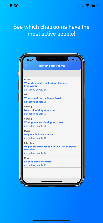 Daily Talks - Create Fun Chatrooms