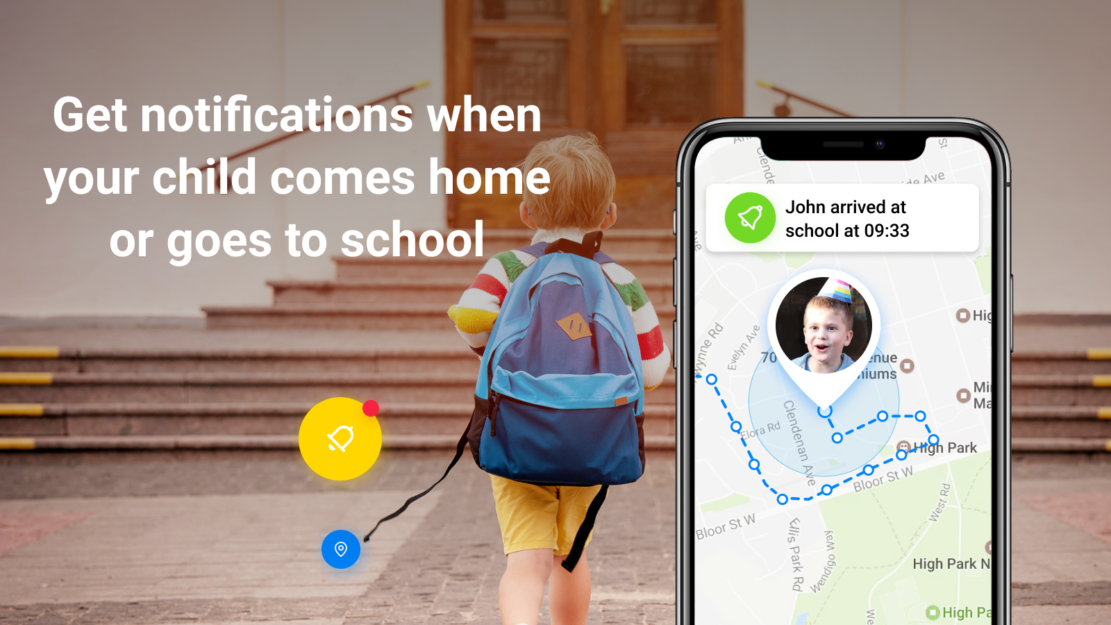 Find My Kids: Child GPS-watch & Cell Phone Tracker