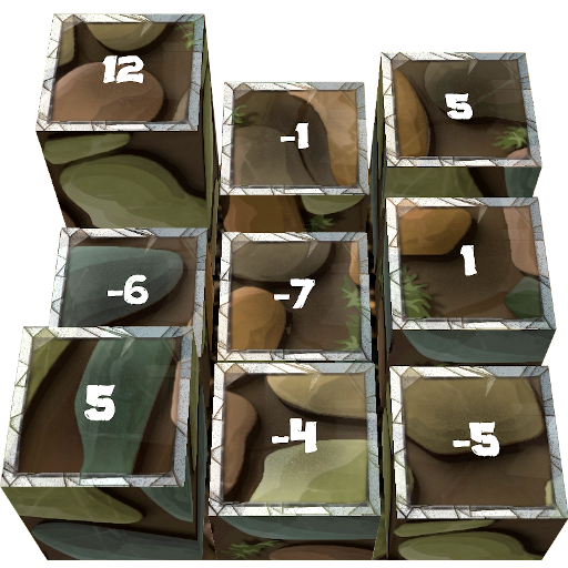 Heights Puzzle: Sequence