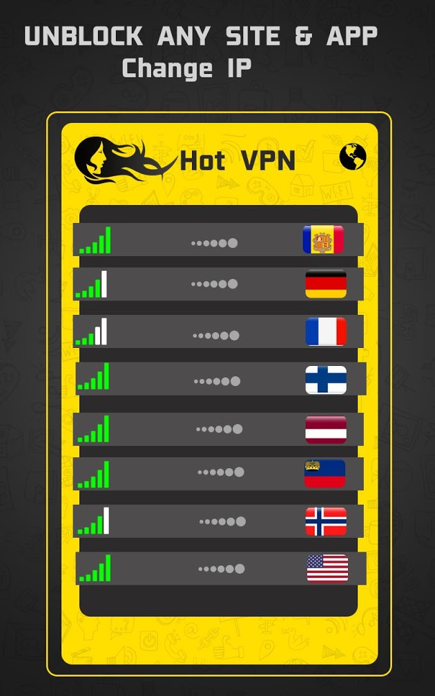 Hot VPN - HAM Free VPN Private Network