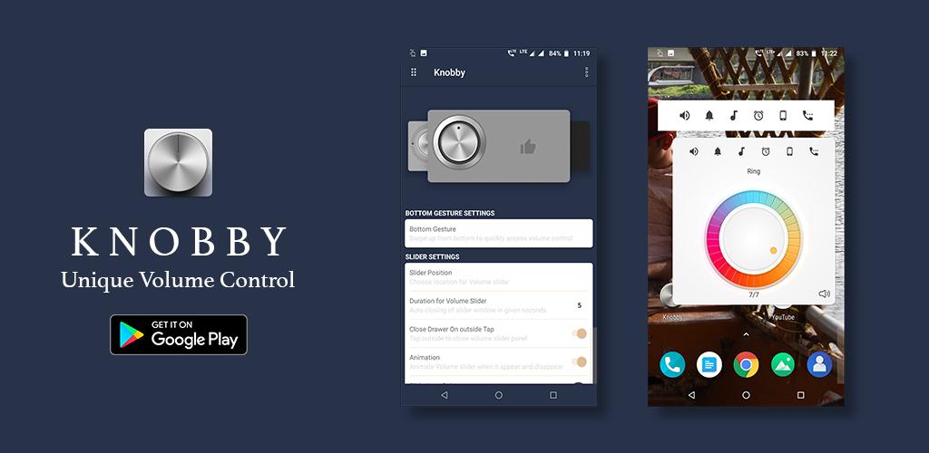 Knobby Volume Control