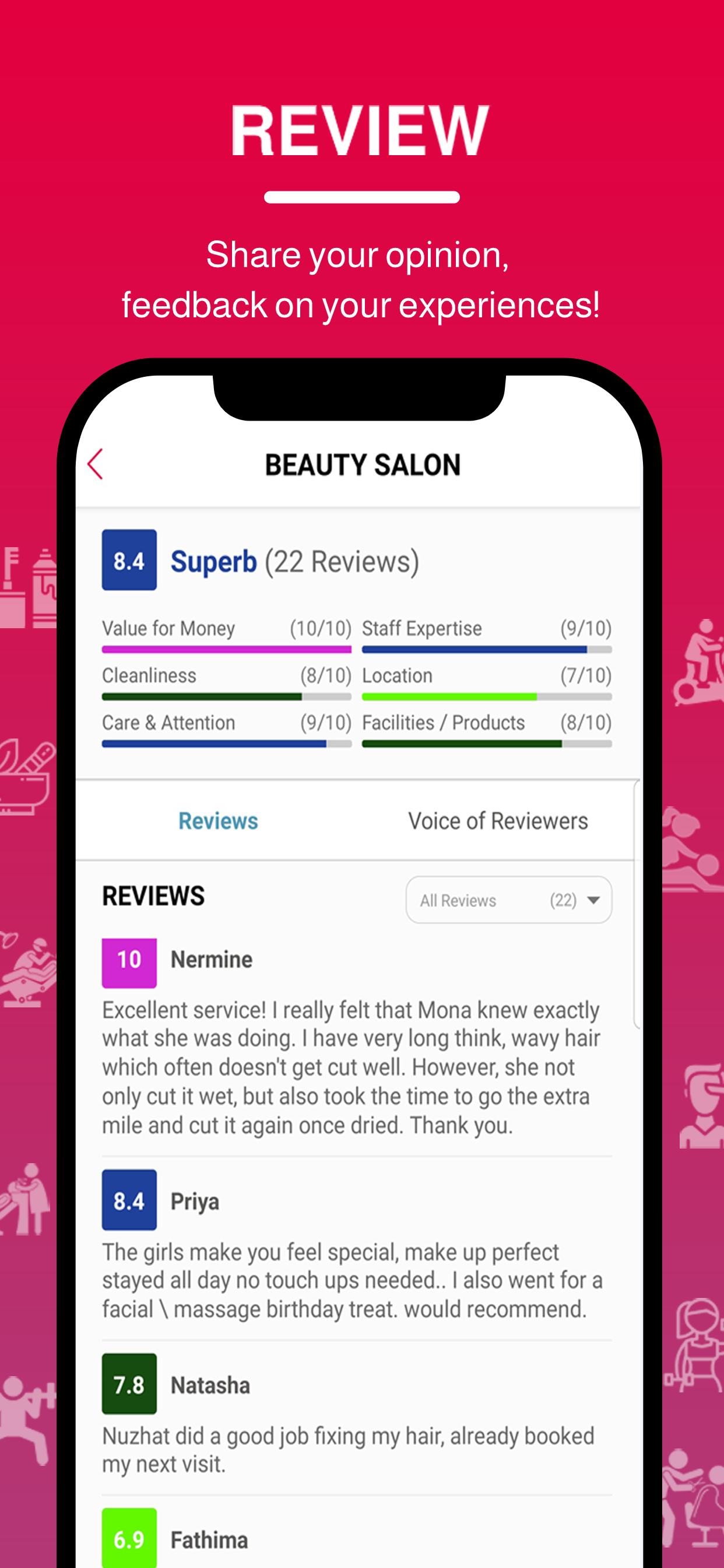 Beutics – Beauty, Fitness and Home services