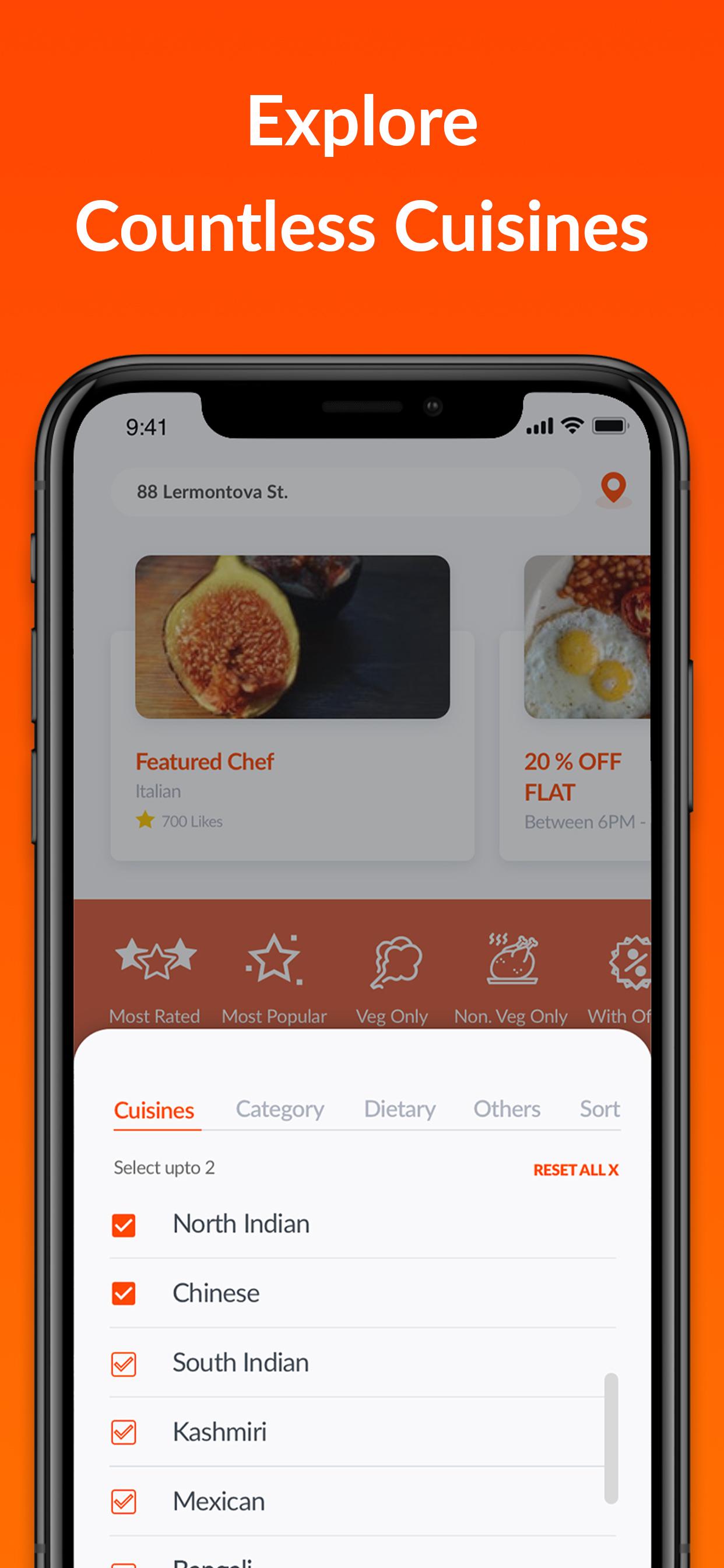 HomeFoodi Online Food Order Delivery in Noida