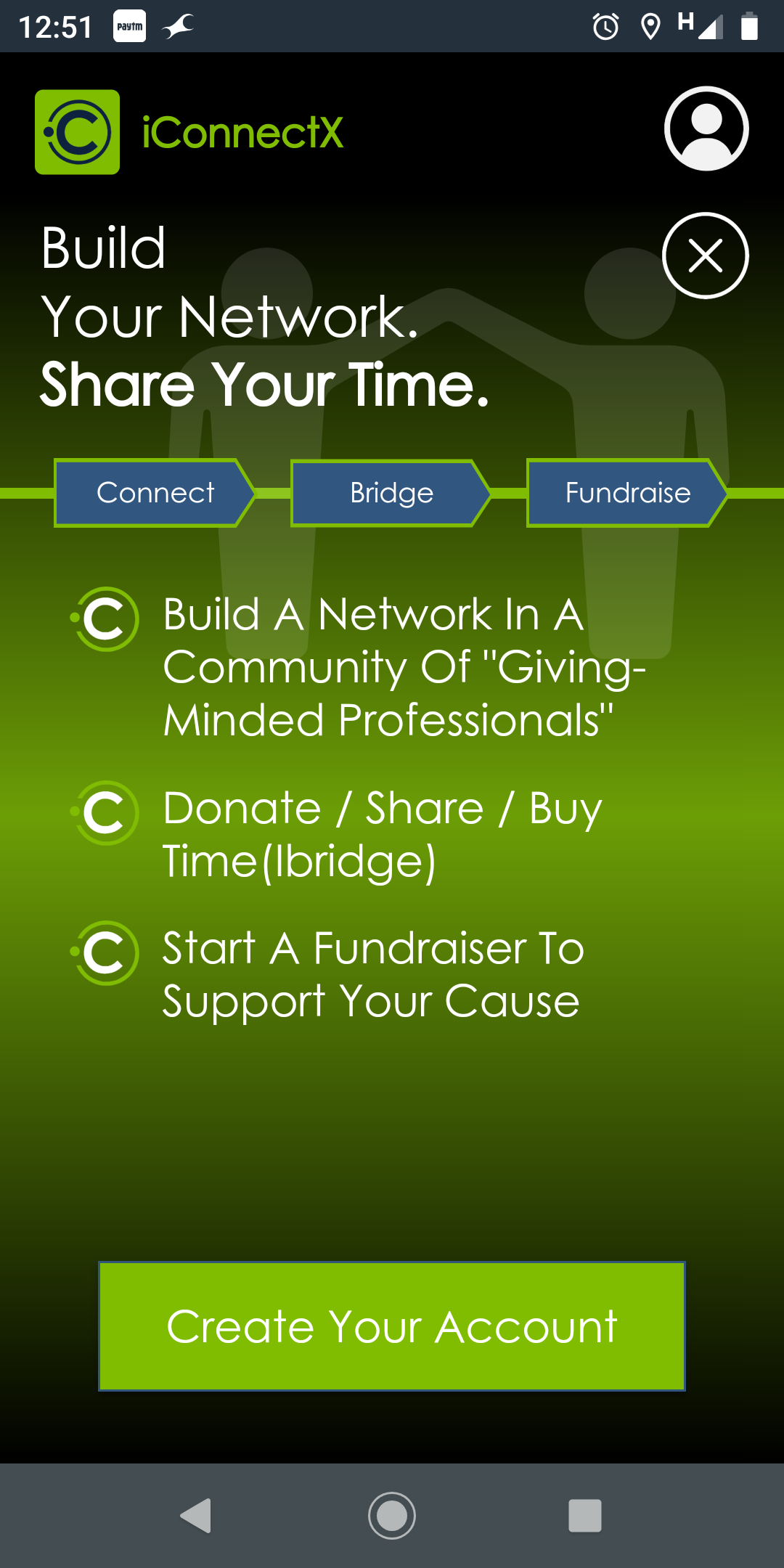 iConnectX Online Fundraising