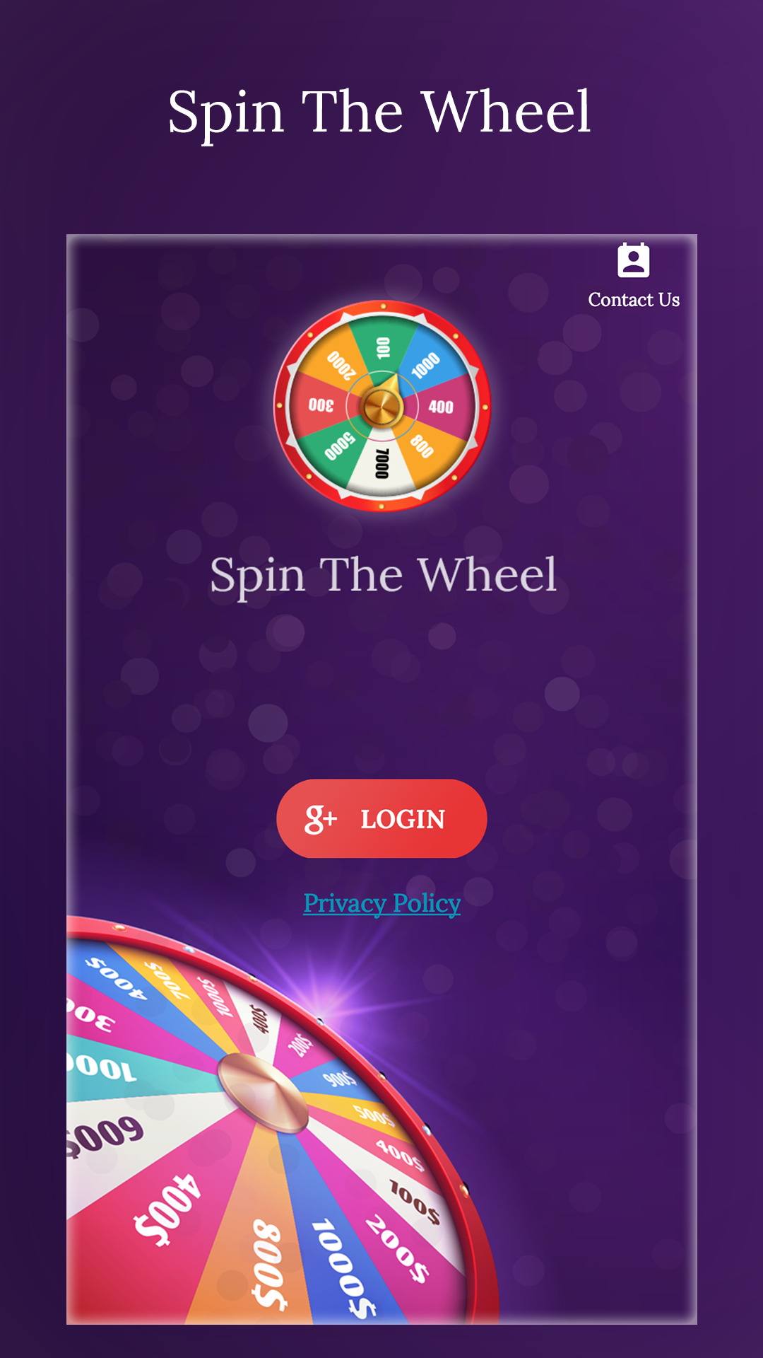 Spin the Wheel - Spin Game 2020