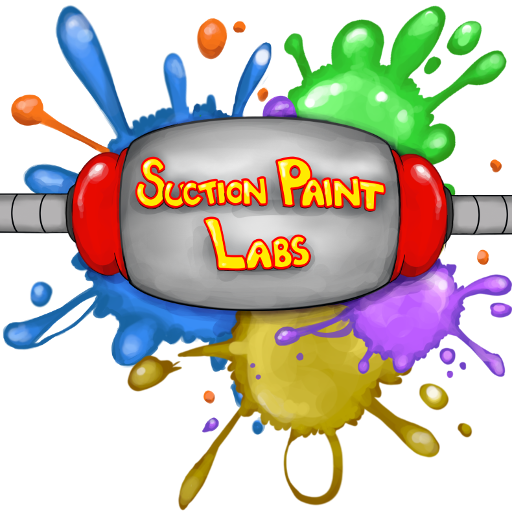 Suction Paint Labs: Match 3 Physics Block Game