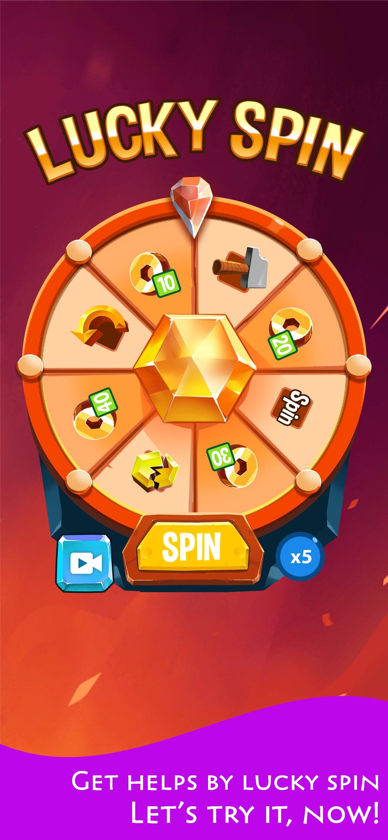 2048 Hexagon - Puzzle game