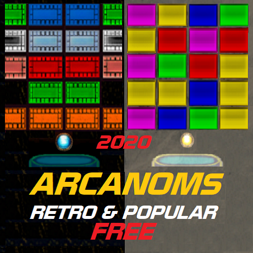ARCANOMS BRICK BREAKING GAME 2020 - RETRO & POPULAR VERSION