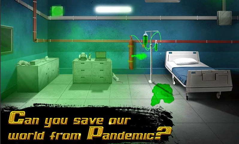 Escape Room Hidden Mystery - Pandemic Warrior