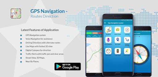 GPS Voice Navigation - Routes Direction