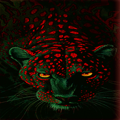 Green Leopard Live Wallpaper