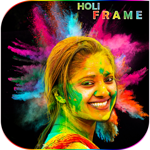 Holi Photo Frame 2020 : Happy Holi Photo Frame