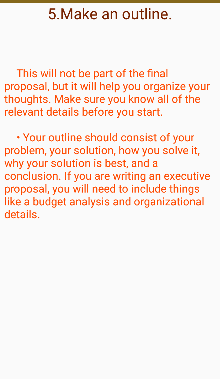 HOW TO WRITE PROPOSAL