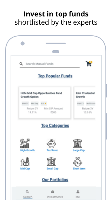 Mutual Fund Investment App   SIP - WealthBucket
