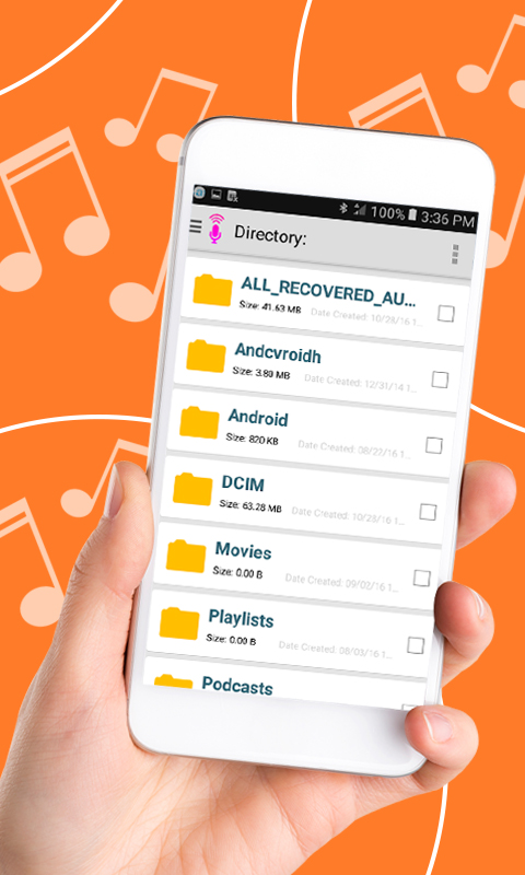 Recover Deleted Audio Files- Audio call Recovery