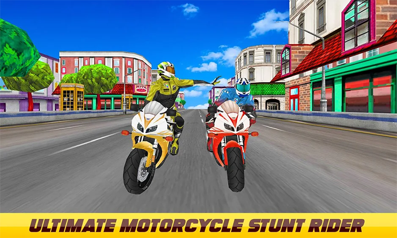 Ultimate Motorcycle Stunt Game