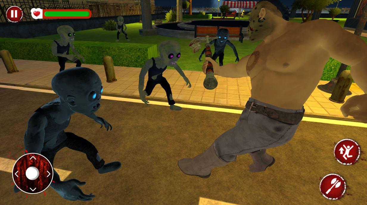 Zombie warfare with Axe