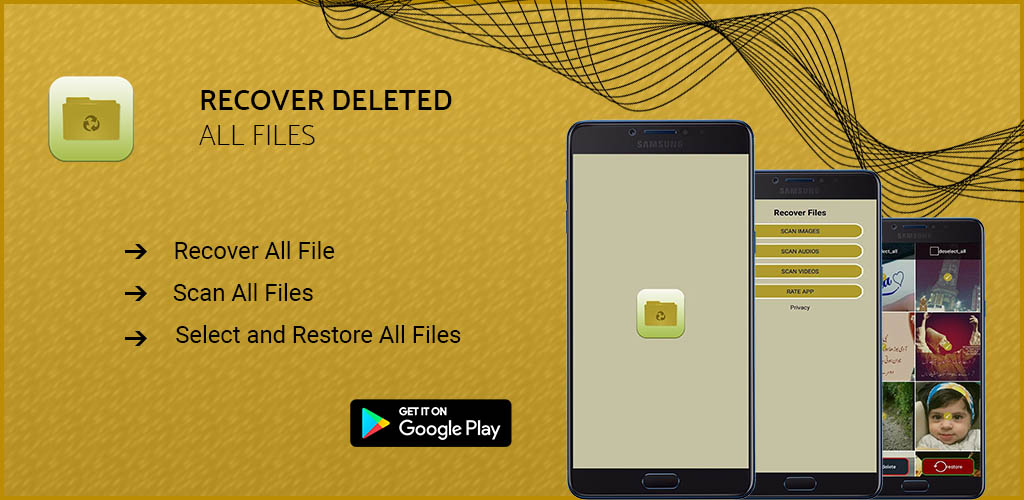 Best App to Recover deleted all files -Videos audio recording