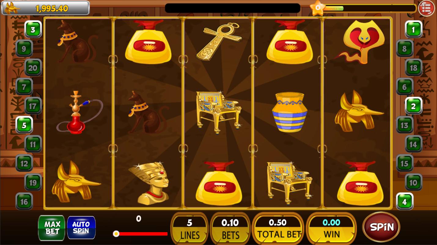 Cleopatra Slot Machine - Best Egyptian Casino Game