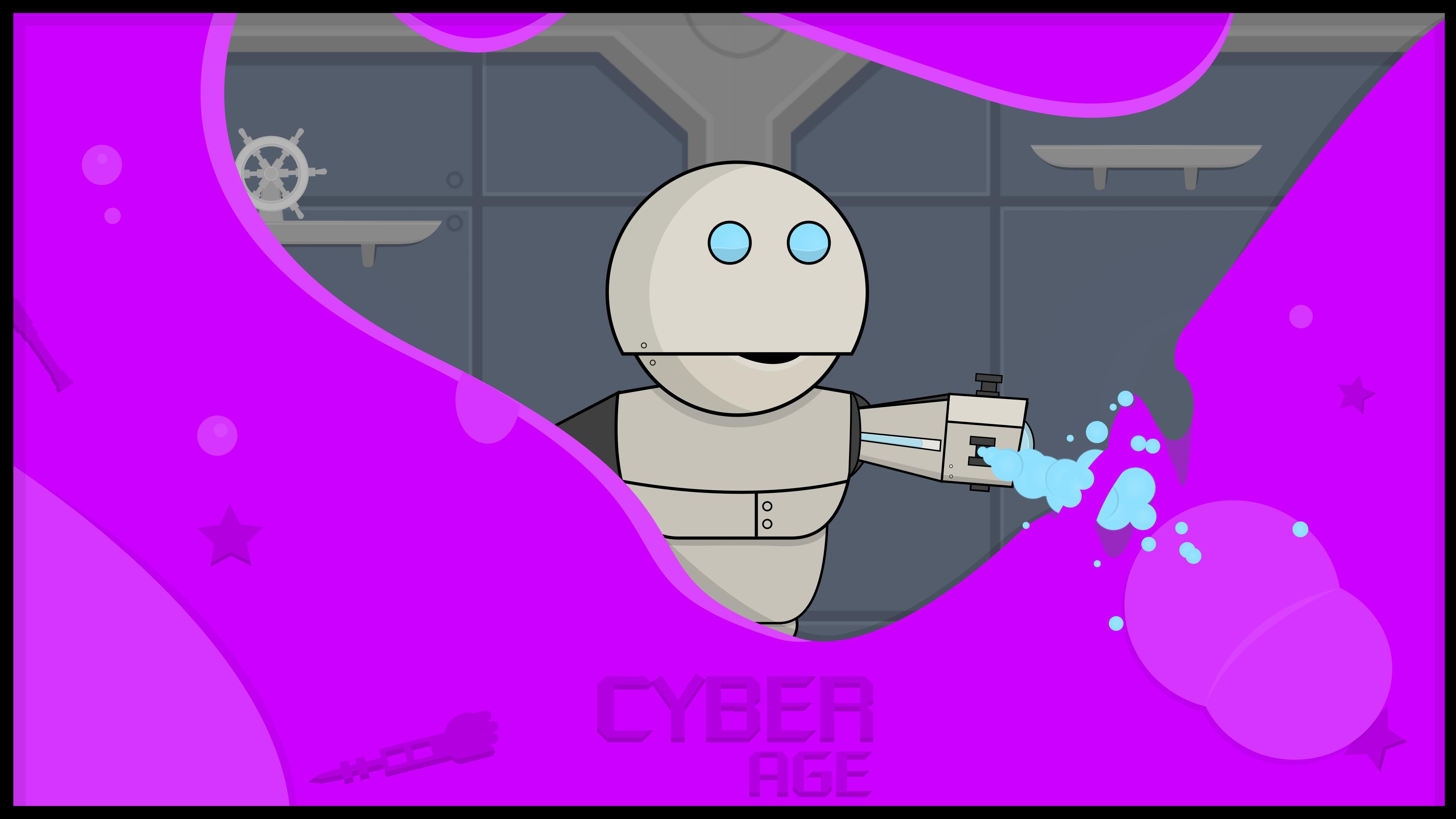 CYBERAGE : Puzzle Platformer Game