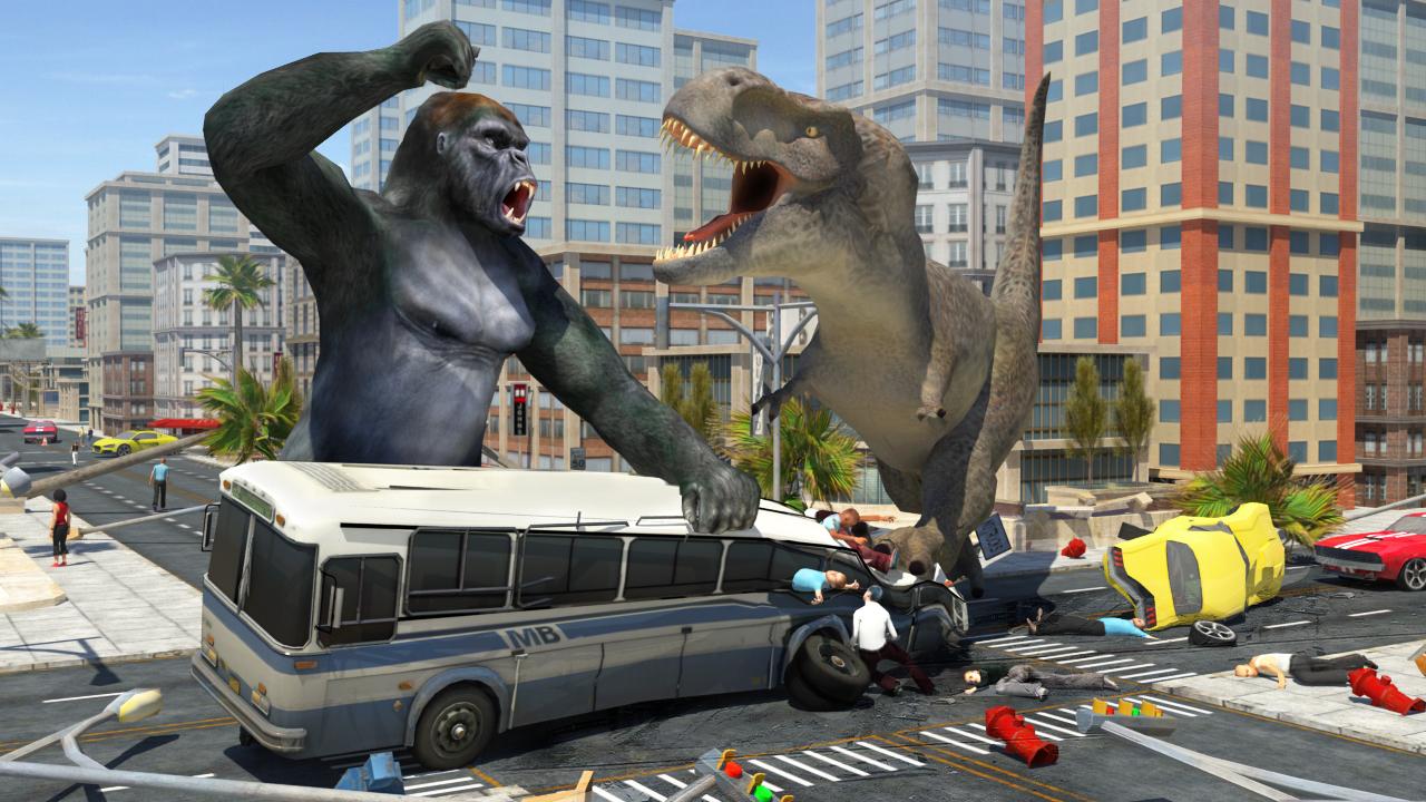 Dinosaur Hunter : Free Dinosaur Games