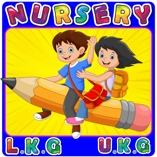 Nursery Kids – LKG, UKG, pre-kindergarten Learning